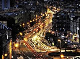 Leith Walk by night