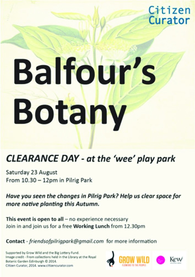 FW Balfours Botany Sat 23 August 1030  12pm