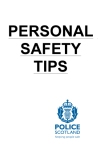 Personal Safety - booklet