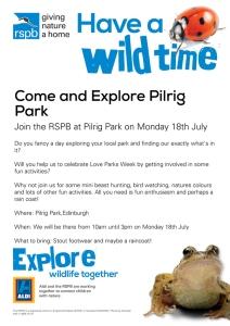 RSPBpilrig-park---love-parks-week2016