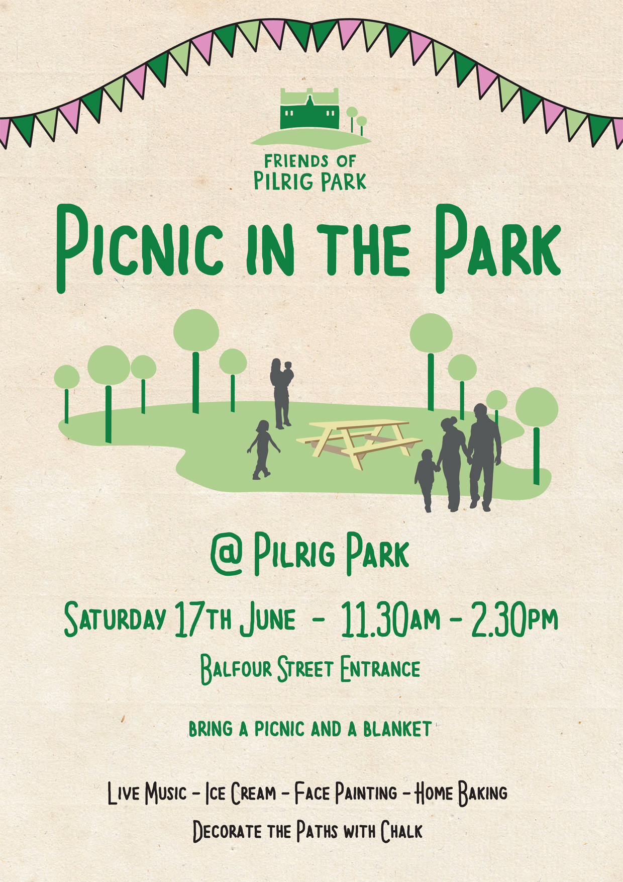 Picnic in the Park 2017: Saturday 17 June – Leith Central ...