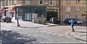 Buchanan Street at the corner with Albert Street