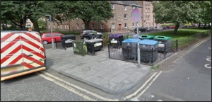 Recycling Point at South Sloan Street