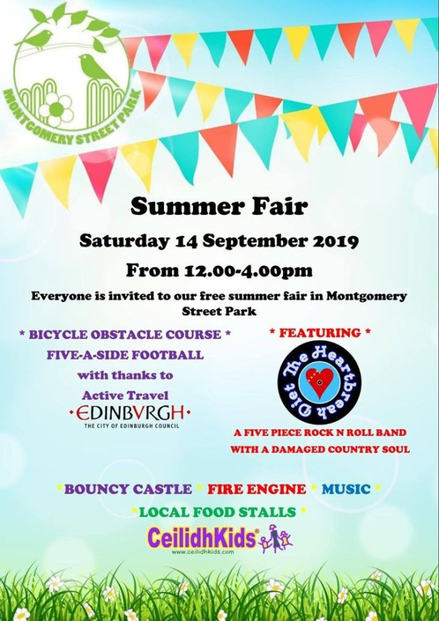 Montgomery Park Summer Fair tomorrow